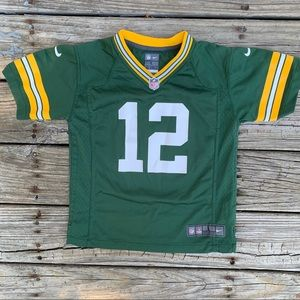 Aaron Rodgers Green Bay Packers Football Jersey